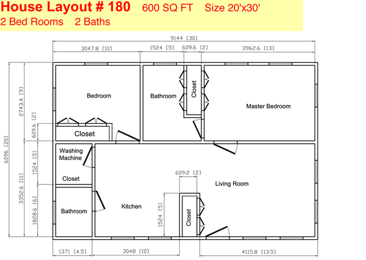 Cabin floor plans 20x30 joy studio design gallery best for 20x30 cabin blueprints